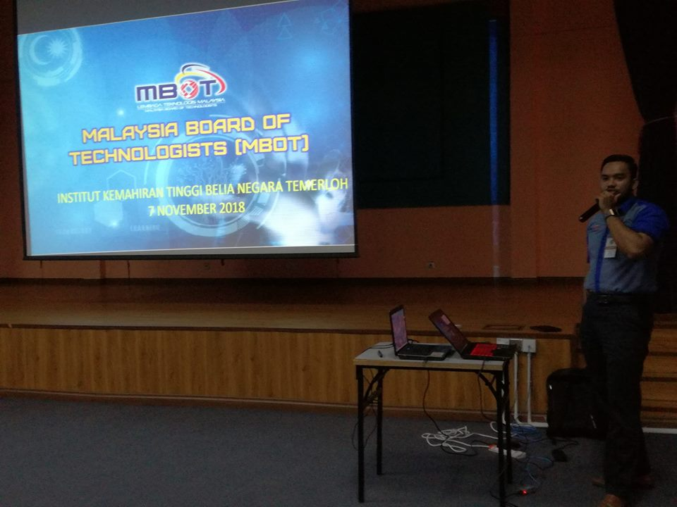 MALAYSIA BOARD OF TECHNOLOGISTS MBOT THE NEW PROFESSIONAL BODY