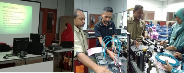 Training of Trainer (TOT) Programmable Logic Control (PLC)