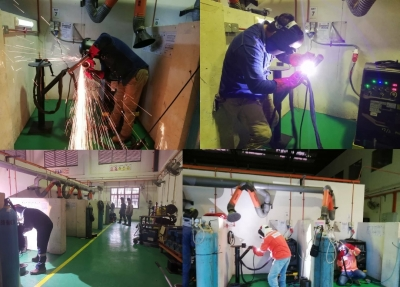Program Welding Qualification Test (WQT) Bersama Industri.
