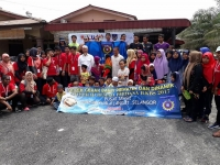 PROGRAM KESUKARELAWANAN ILKBS TOUCH POINT (CABINET AWAY DAY 2017) DI RUMAH ANAK YATIM AS-SOLIHIN KANCHONG DARAT