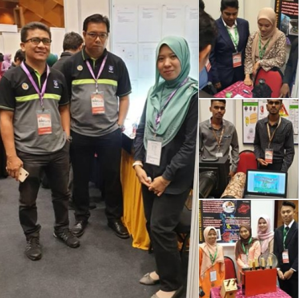 IKTBN SEPANG DI PERTANDINGAN INVENTION, INNOVATION AND DESIGN EXPOSITION (IIDEX'19)