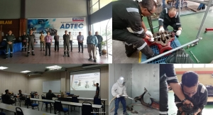 Kursus Mechanical Fitter Static Equipment di ADTEC Batu Pahat