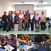 KURSUS INTRODUCTION TO MICROCONTROLLER IN INTERNET OF THINGS APPLICATION