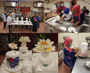 Advance Cake Decoration Specialist Icing Embroidery & Sugar Lace Decoration