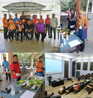 Program Peningkatan Kemahiran (PPK), kursus 'Understanding on NDT Technologies. MPI and DPI Method'