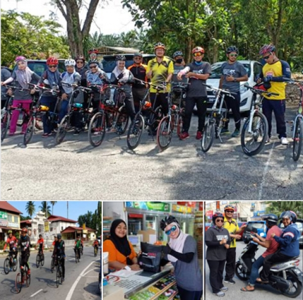 "IKTBN SEPANG MENYERTAI PROGRAM BERBASIKAL ""FUN RIDE AGAINST DRUGS"""