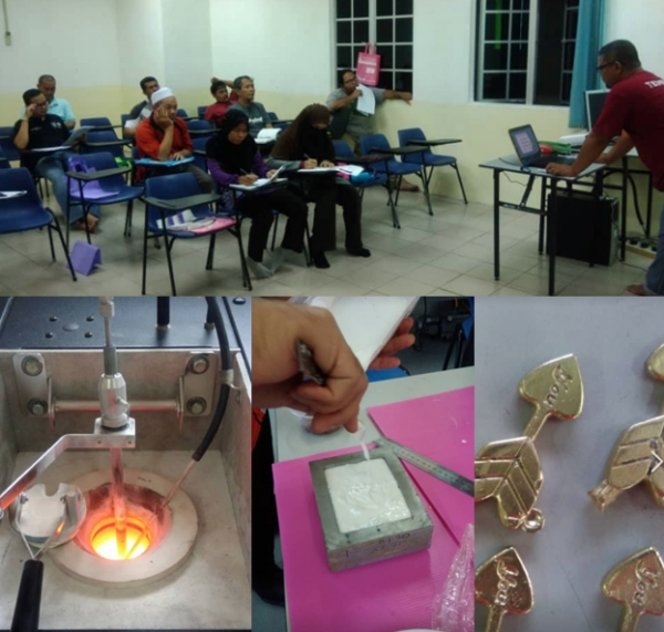 PROGRAM PENINGKATAN KEMAHIRAN BAGI INVESTMENT CASTING AND FINISHING PROCESS