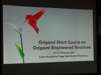 ORIGAMI SHORT COURSE ON ORIGAMI ENGINEERED STRUCTURE