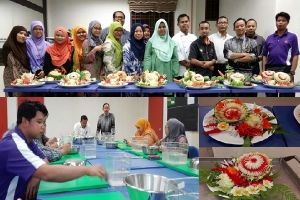 KURSUS ASAS ART OF FRUIT & VEGETABLE CARVING